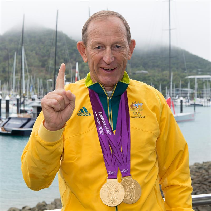 Victor 'the medal maker' Kovalenko to be inducted into the Australian Sailing Hall of Fame - photo © Australian Sailing Team