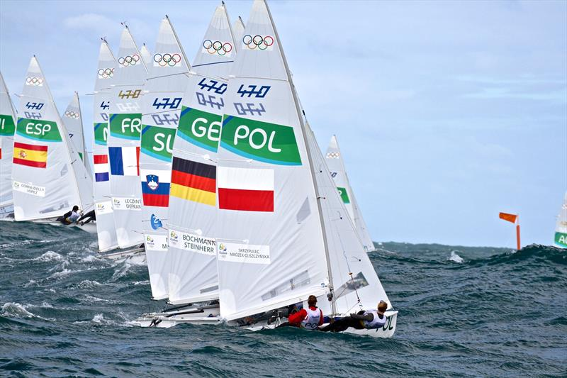 Will the 470 survive the latest round of World Sailing's Olympic cloth cutting? - photo © Richard Gladwell