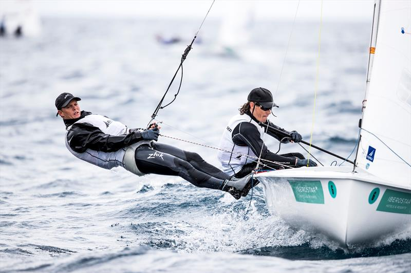 Dan Willcox and Paul Snow-Hansen (NZL) 49th Trofeo Princesa Sofia Iberostar, Day 5, April 6, 2018 - photo © Tomas Moya / Sailing Energy / Trofeo Princesa Sofia Iberostar