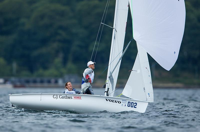 Paul Snow-Hansen and Dan Willcox (NZL) - 470 - Hempel Sailing World Championships - Day 5 - Aarhus, Denmark - photo © Sailing Energy / World Sailing