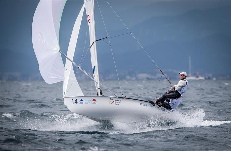 470 - Day 1 - Sailing World Cup - Enoshima - photo © Jesus Renedo / Sailing Energy / World Sailing