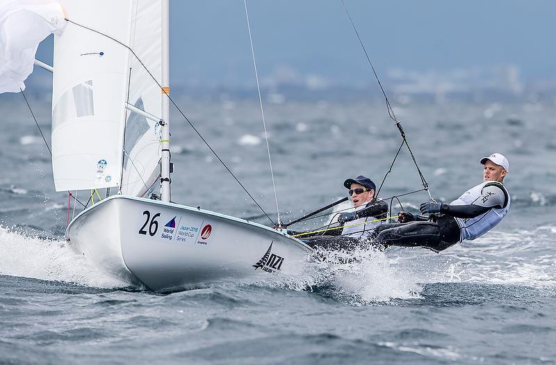 (NZL) - Sailing World Cup - Enoshima - Day 2 - September 12, 2018 - photo © Jesus Renedo / Sailing Energy