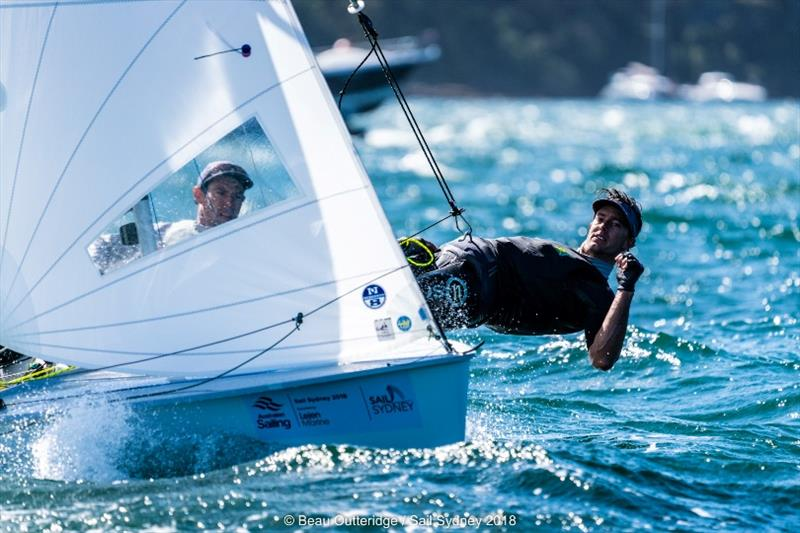 Mat Belcher and Will Ryan - Day 4 - Sail Sydney - photo © Beau Outteridge