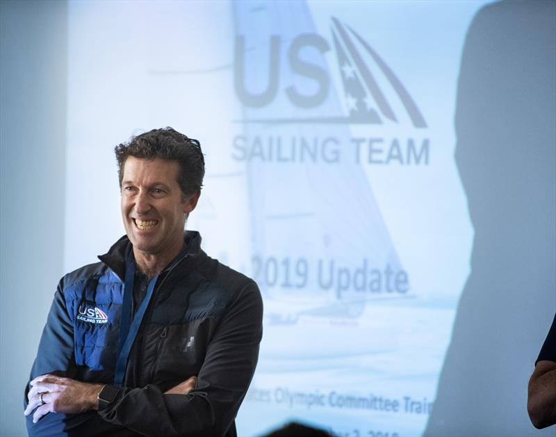 Malcolm Page (AUS) is US Sailing's chief of Olympic sailing and a two-time Olympic gold medalist (2008, 2012) in the Men's 470 class - photo © Image courtesy of US Sailing