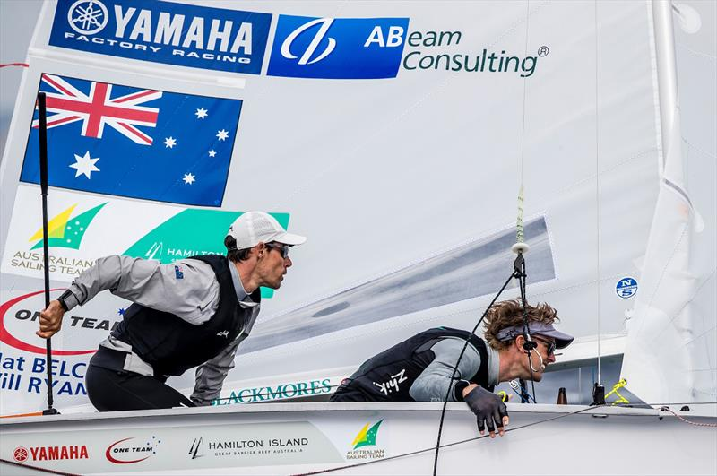 Mat Belcher and Will Ryan in good form - Princess Sofia Trophy 2019 - photo © Jesus Renedo, Sailing Energy