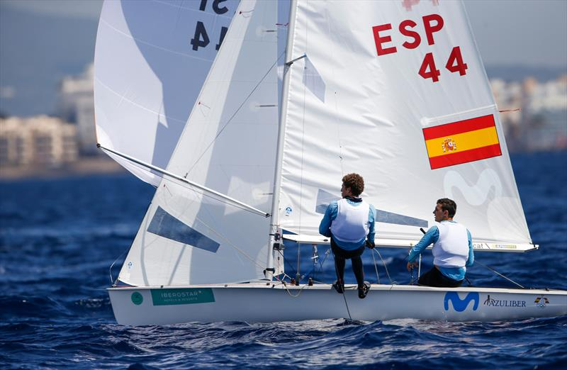 Xammar & Rodriguez (ESP) on day 2 of Trofeo Princesa Sofia Iberostar - photo © Jesus Renedo / Sailing Energy