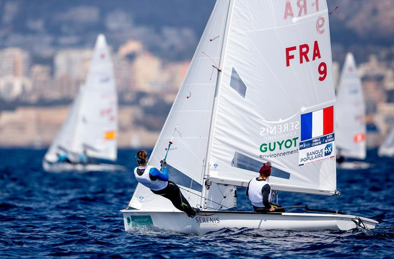 Lecointre & Retornaz (FRA) on day 2 of Trofeo Princesa Sofia Iberostar - photo © Jesus Renedo / Sailing Energy