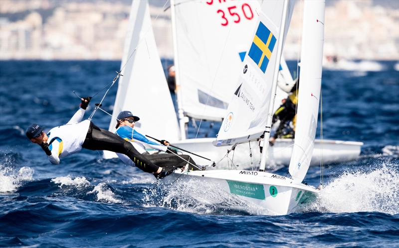Anton Dahlberg and Frederik Bergström win with a day to spare at the 50th Trofeo Princesa Sofia Iberostar - photo © Jesus Renedo / Sailing Energy