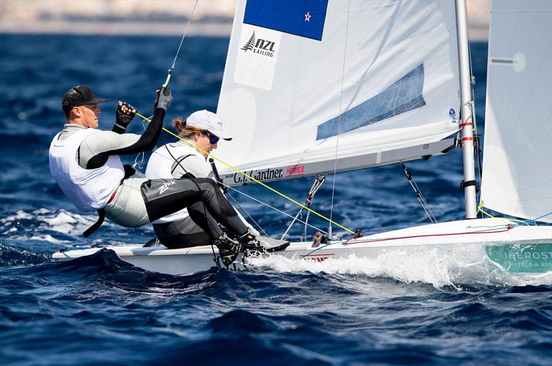 Paul Snow Hansen and Dan Willcox - 470 - NZL Sailing Team - Trofeo Princesa Sofia Iberostar - Day 5 - April 5, 2019 - photo © Sailing Energy