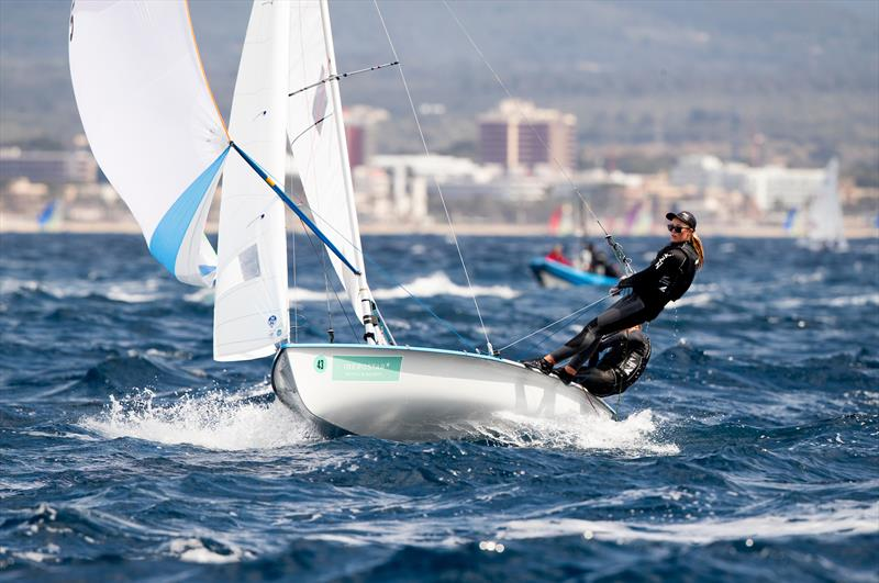 Susannah Pyatt and Brianna Reynolds-Smith - 470 - NZL Sailing Team - Trofeo Princesa Sofia Iberostar - Day 5 - April 5, 2019 - photo © Sailing Energy