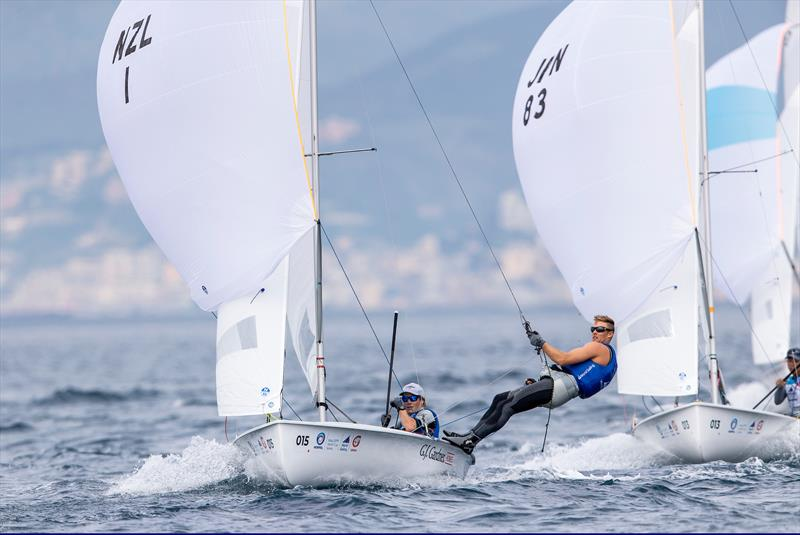 NZL Sailing Team: Gold for Men's 470 at Genoa World Cup