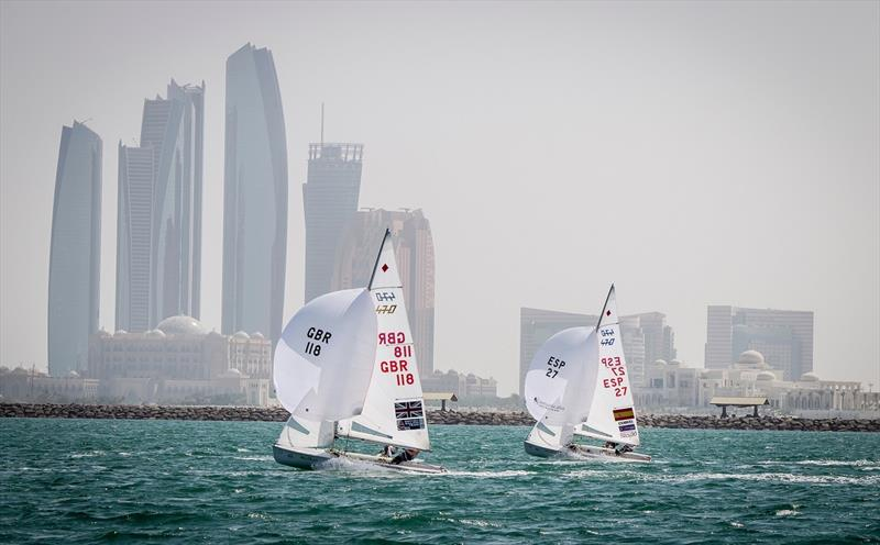 Sailing World Championship Abu Dhabi - photo © World Sailing