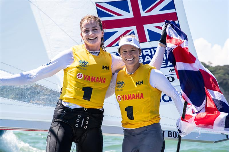 Mills and McIntyre crowned 470 world champions in Tokyo 2020 venue