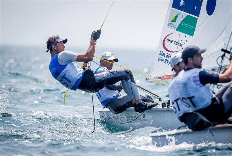 Mat Belcher and Will Ryan - Ready Steady Tokyo, day 3 - photo © Sailing Energy / World Sailing