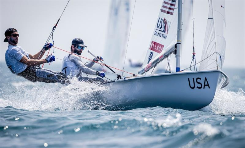 U.S. Men's 470, Stu McNay and Dave Hughes - Ready Steady Tokyo, day 4 - photo © US Sailing