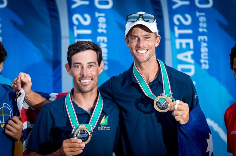 Mat Belcher and Will Ryan win Gold - Ready Steady Tokyo, day 6 - photo © Pedro Martinez / Sailing Energy / World Sailing
