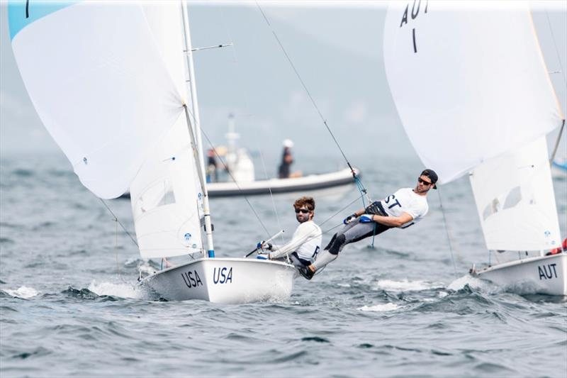 US Sailing Team at the Ready Steady Tokyo test event - Overall