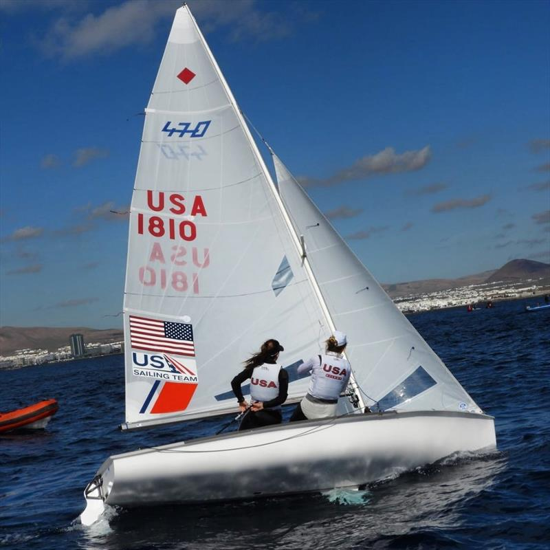 Nikki Barnes and Lara Dallman-Weiss will represent the USA in the Women's 470 event at the Tokyo 2020 Olympics  photo copyright Image courtesy of Perfect Vision Sailing taken at St. Francis Yacht Club and featuring the 470 class