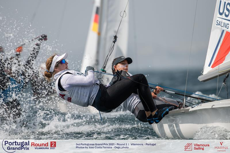Nikki Barnes and Lara Dallman-Weiss will represent the USA in the Women's 470 event at the Tokyo 2020 Olympics  photo copyright Joao Costa Ferreira taken at St. Francis Yacht Club and featuring the 470 class
