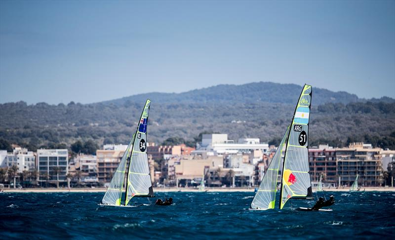 49er - Day 3 - 49th Trofeo Princesa Sofia Iberostar, Palma, Spain - photo © Tomas Moya / Sailing Energy / Iberostar