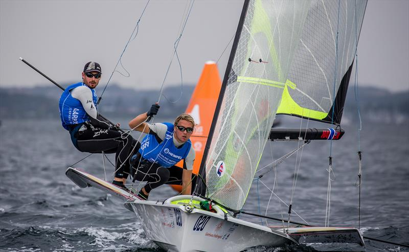 Zhik NZ are supporters of the NZL Sailing Team at the 2018 Hempel Sailing World Championships and 2020 Olympic Qualifier, Aarhus, Denmark - photo © Sailing Energy