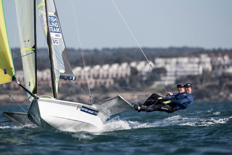 Nacra 17, 49er and 49erFX European Championship - photo © Lloyd Images / RYA