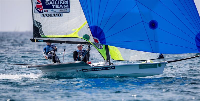 Fletcher & Bithel (GBR) on day 2 of Trofeo Princesa Sofia Iberostar - photo © Jesus Renedo / Sailing Energy