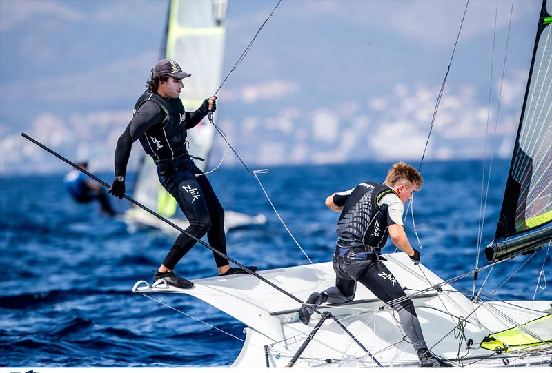 Josh Porebski - 49er - NZL Sailing Team - Trofeo Princesa Sofia Iberostar - Day 2 - April 2, 2019 - photo © Sailing Energy
