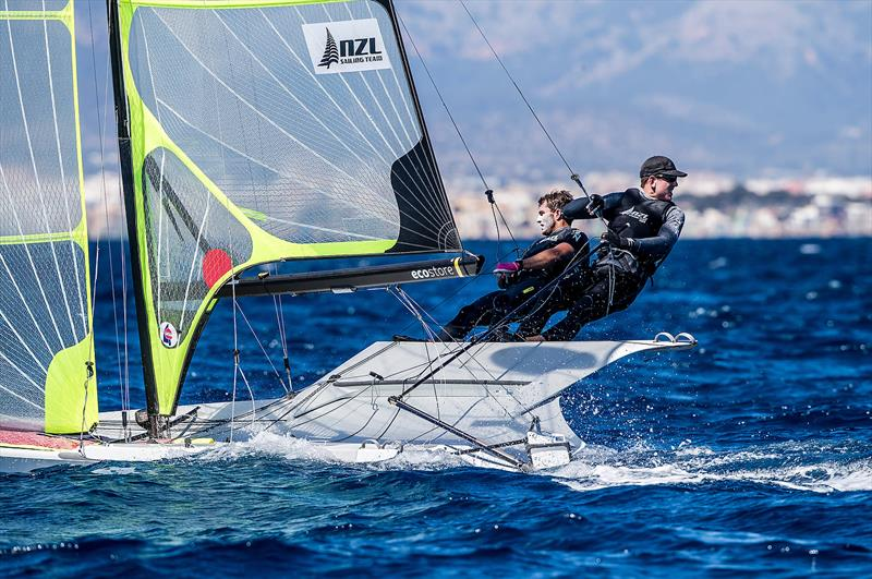 Peter Burling and Blair Tuke - 49er - NZL Sailing Team - Trofeo Princesa Sofia Iberostar - Day 4 - April 4, 2019 - photo © Sailing Energy
