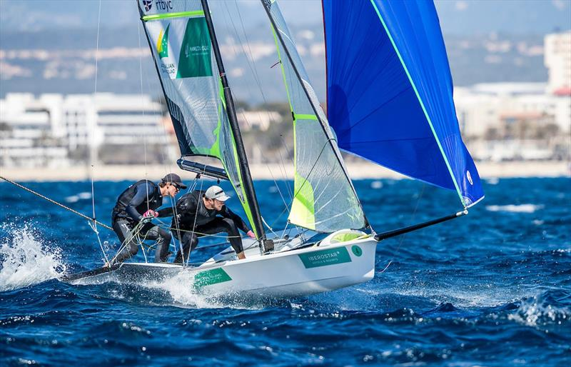Top placed 49er sailors David and Lachy Gilmour - Princess Sofia Trophy - photo © Sailing Energy