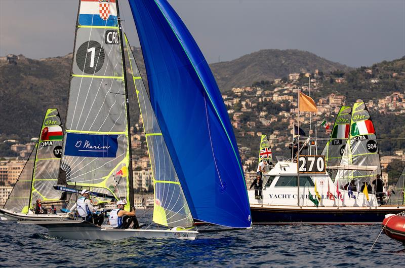 Genoa World Cup Series 2019 day 4 - photo © Sailing Energy