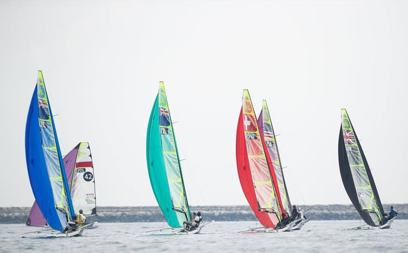 Day 7 - European 49er Championships  - Weymouth, May 19,  2019 - photo © Lloyd Images