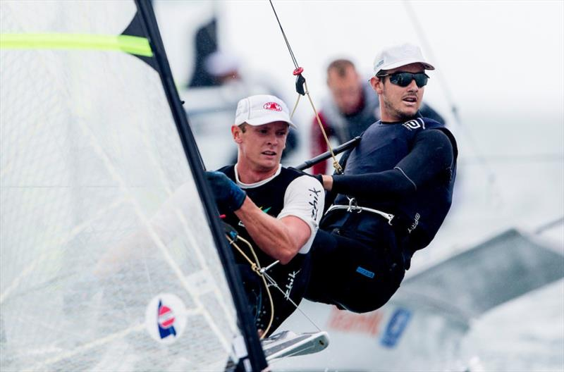 Australian Team at 2020 49er and Nacra 17 World Championships - photo © Sailing Energy