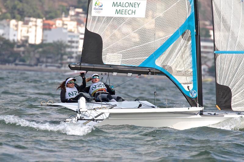 World Sailing needs to discriminate positively for Women mandating that the helm must be a female in all Mixed Crew events photo copyright Richard Gladwell taken at  and featuring the 49er FX class