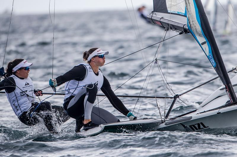 NZL - Day 1 - Sailing World Cup - Enoshima - photo © Jesus Renedo / Sailing Energy / World Sailing