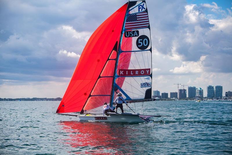 2019 Hempel World Cup Series Miami - photo © US Sailing Team