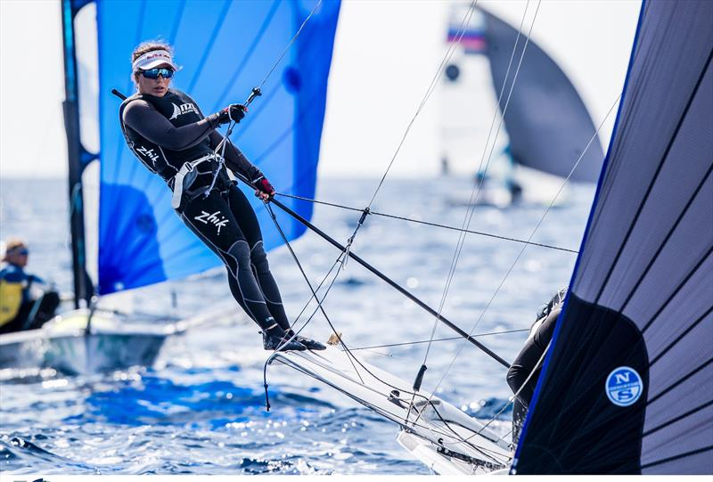 Alex Maloney - NZL Sailing Team - Trofeo Princesa Sofia Iberostar - Day 2 - April 2, 2019 - photo © Sailing Energy