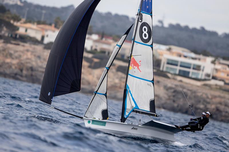 Alex Maloney and Molly Meech - NZL Sailing Team - Trofeo Princesa Sofia Iberostar - Day 5 - April 5, 2019 - photo © Sailing Energy