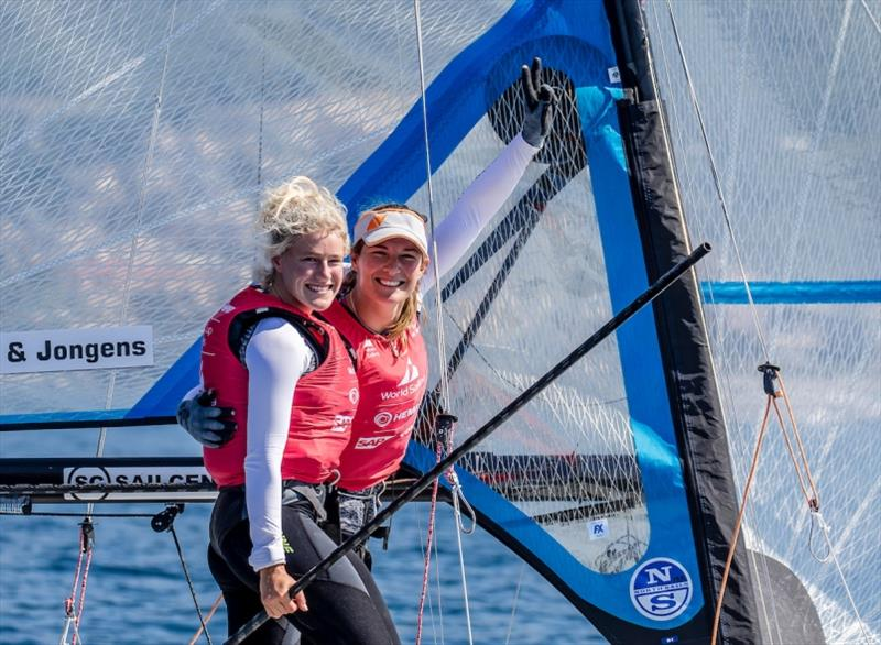 Hempel World Cup Series Genoa - Day 6: First medals go to Australia, The Netherlands and Spain