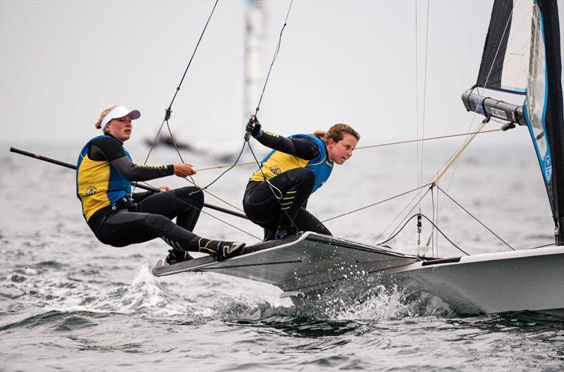 Day 6 of the Volvo Nacra 17, 49er and 49er FX European Championship - photo © Drew Malcolm
