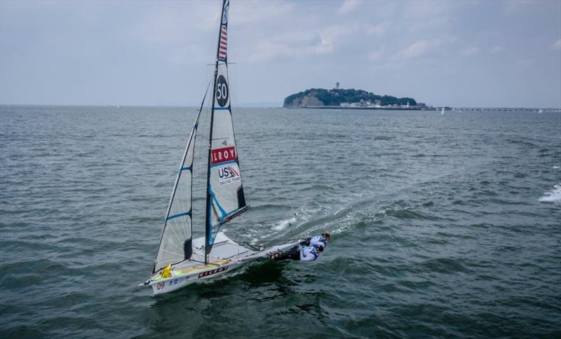 U.S. Women's 49erFX, Stephanie Roble and Maggie Shea - photo © Sailing Energy / World Sailing