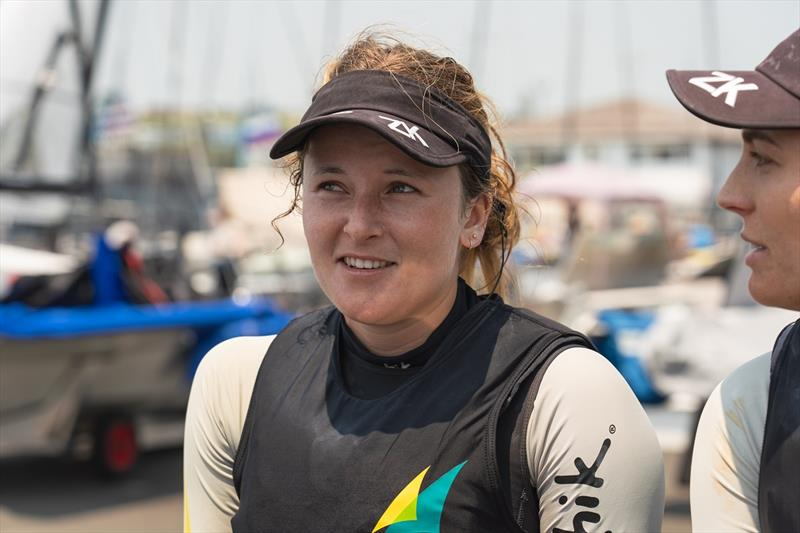Amelia Stabback - Hyundai 49er, 49erFX & Nacra 17 World Championships - photo © Beau Outteridge