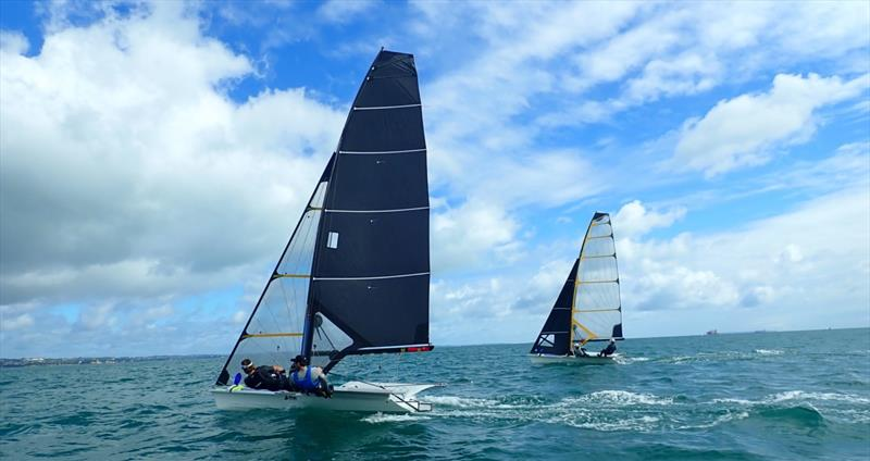 49er and 49erFX - photo © North Sails