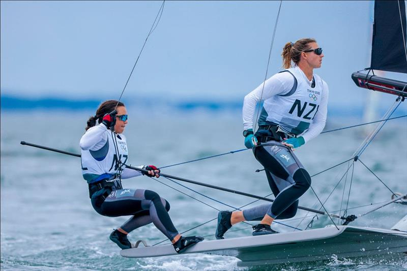 Frustrating day for Kiwi Olympic sailors