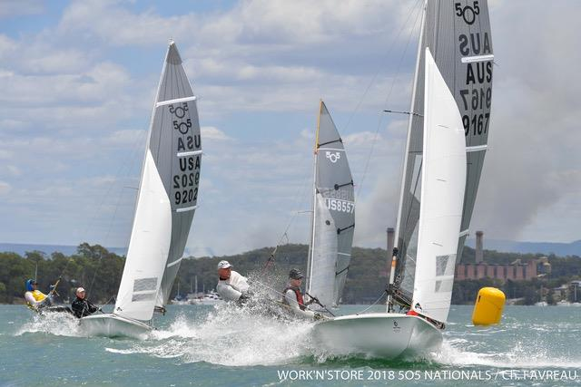 Work'N'Store / Ronstan 505 Australian Championship - photo © Work'N'Store 2018 505 Nationals / Christophe Favreau
