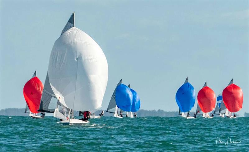 505 racing at Hayling Island - photo © Peter Hickson