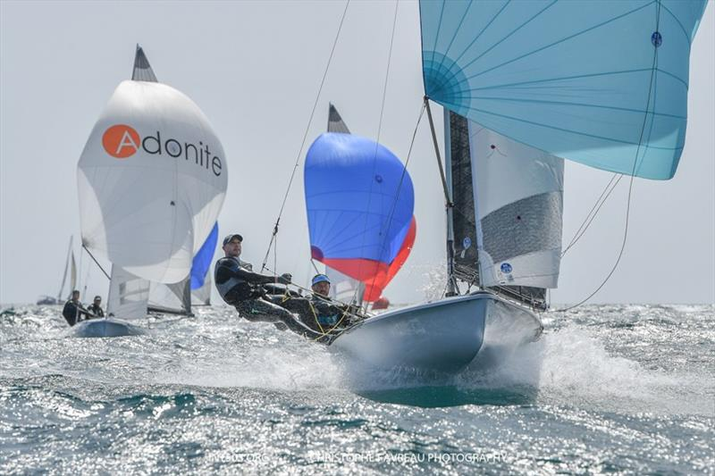 2019 505 Euro Cup at Yacht Club de Cannes - Day 2 - photo © Christophe Favreau / int505.org