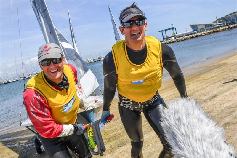 Mike Martin and Adam Lowry - 2019 World 5O5 Championship, Fremantle, Australia - photo © 505 International Association