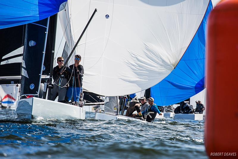 5Billy5 leads Girls on Film - Day 1 - 2019 5.5 Metre Worlds in Helsinki - photo © Robert Deaves