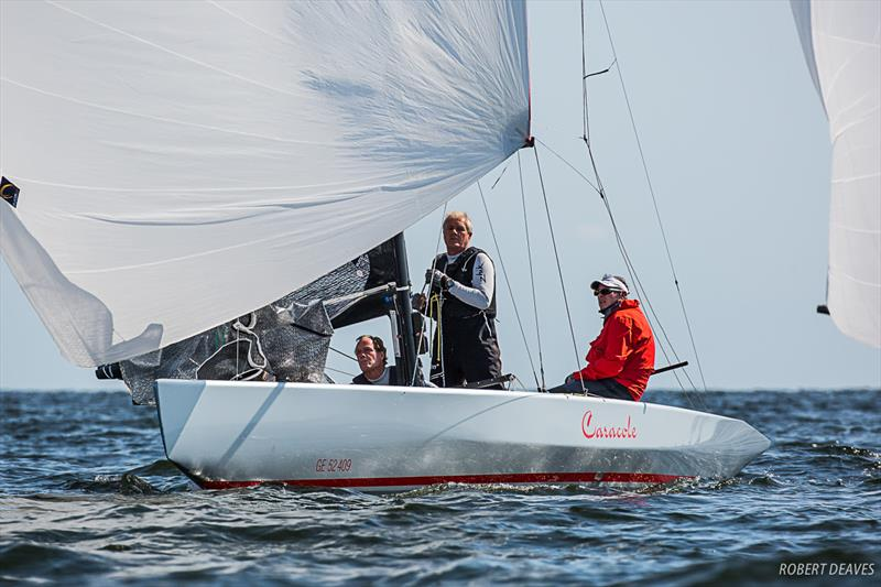 Caracole - Day 1 - 2019 5.5 Metre Worlds in Helsinki - photo © Robert Deaves